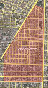 Ladrón de Guevarra Map