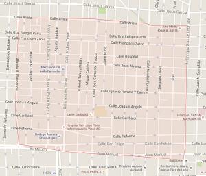 Santa Tere Map