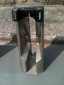 mibici bicycle security gate guadalajara jalisco